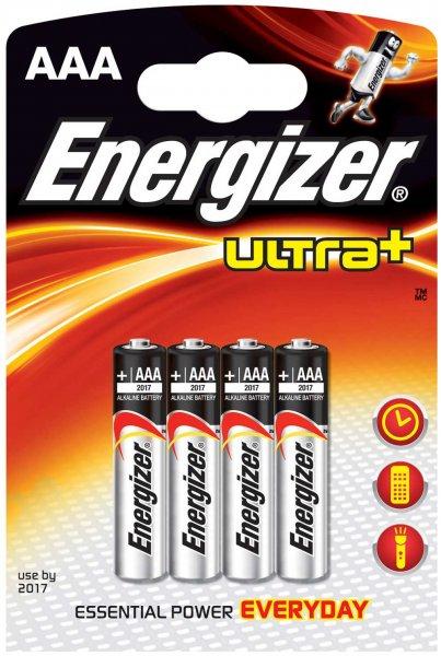 [GLOBUS] Energizer Ultra+ AAA für 0,49€/4er-Packung bei Kauf von 2 Pck. durch 6,00€ Cash-Back