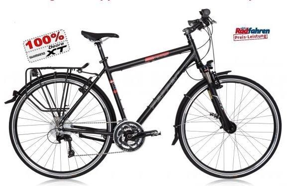 """Trekkingrad nur Heute: Pepperbikes """"Red Pepper"""" mit vollständiger XT-Gruppe 949,00 anstatt 1099,00"""