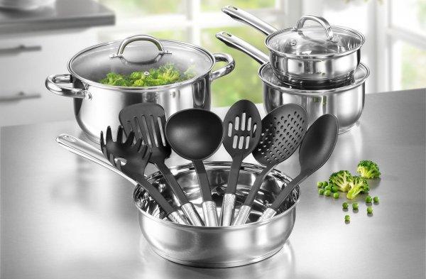 eBay: Karcher Topfset Neapel Edelstahl Induktion Kochtopfset + Küchenhelfer nun zu 29,99 Euro inkl. Versand