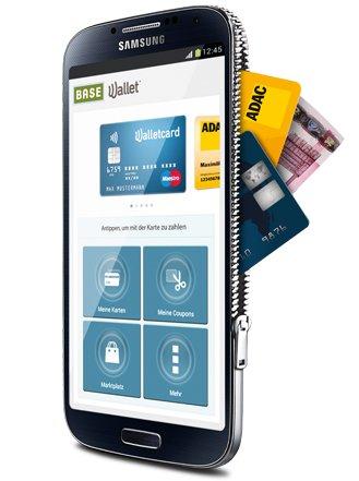 BASE Wallet: 20€ Startguthaben + 4€ Kinogutschein [BASE Kunden only]