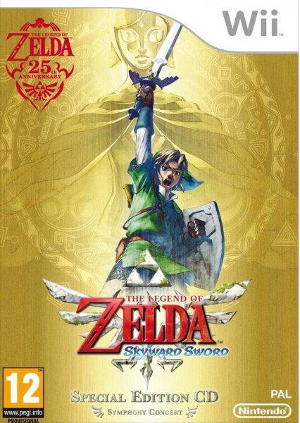The Legend of Zelda: Skyward Sword - Special Orchestra-CD - Limited Edition (Wii) und viele weitere Wii Titel günstig bei Amazon Spanien 28,47 (Vergleichspreis: 44,99€)