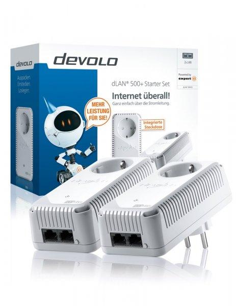 Bundesweit bei Expert: DEVOLO DLAN 500+ Starter Kit