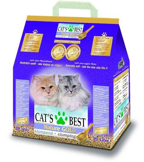 [Online - Fressnapf.de] Cat's Best Gold Klumpstreu für Langhaarkatzen 10L - 6,29€ (-Qipu/-Neukunde) (MBW 15€)