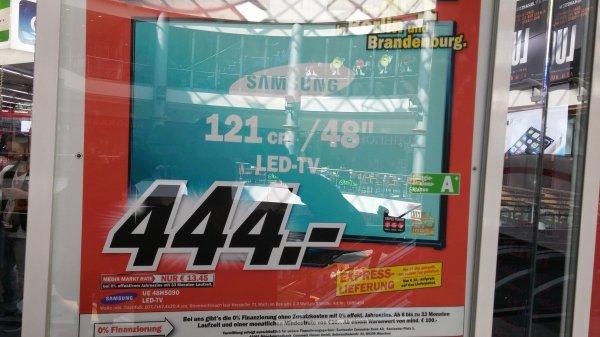 Samsung UE48H5090 bei mediamarkt in Berlin 444€