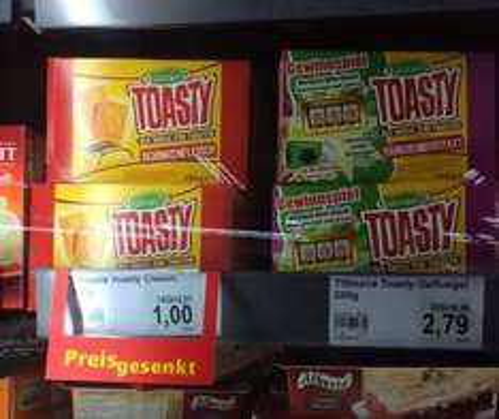 [Lokal] Bielefeld - Marktkauf Baumheide - Toasty Schweinefleisch für 1 Euro