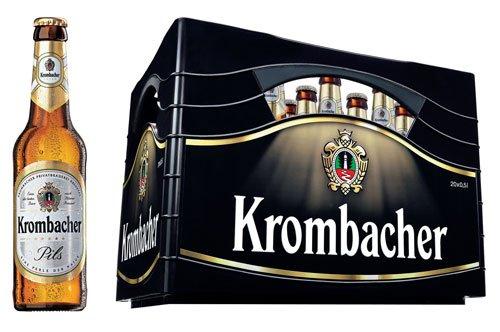 (LOKAL Hamm ) 1 Kiste Krombacher ( Pils, Hell, alkfrei, Radler) 10 Euro @ TRINKGUT