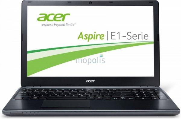 Acer Aspire E1-572G-54204G50Dnkk Notebook i5-4200U matt /  AMD Radeon HD 8750M / 4 GB RAM (Update: mit Tasche und Maus)