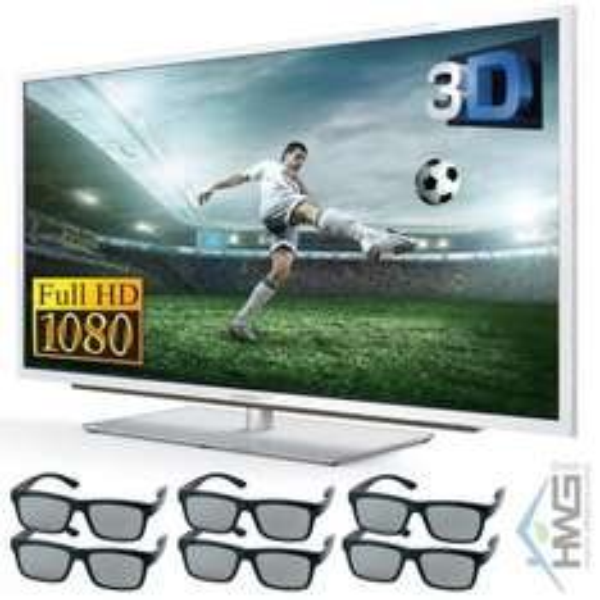 Grundig 42 VLE 9474 SL Full-HD 600Hz mit 6x 3d-Brille @ebay für 479,99