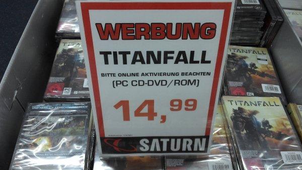 [Lokal Saturn Spandau Arcaden] Titanfall für PC für 14,99 €