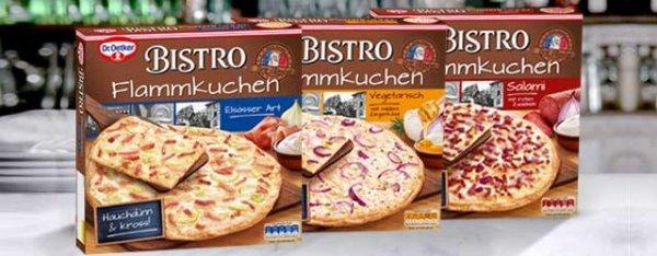 [MARKTKAUF] Dr. Oetker Bistro Flammkuchen für 1,49€ Angebot + Cash-Back (fast bundesweit)