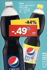 [Lidl ab 8.9.] Diverse Sorten Pepsi 1,5l für 0,49€