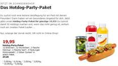 IKEA (bundesweit): Hotdog-Party-Paket