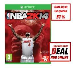 NBA 2K14 (Xbox One) für 15€ @MediaMarkt Österreich