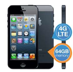Apple iPhone5 Schwarz 64 GB - refurbished