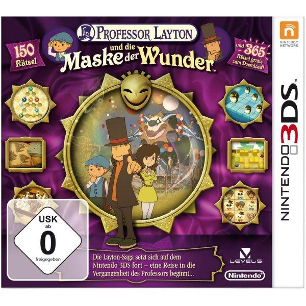 Nintendo 3DS - Professor Layton und die Maske der Wunder ab €9,87 [@Saturn.de]