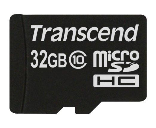 [Prime](-42%) Transcend Extreme - Class 10 32GB microSDHC