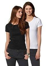 [OTTO.de] Doppelpack (2 Stück)  s.Oliver T-shirts (Schwarz und Weiß) für Damen Gr.34 - Gr.46 für 9,99€ - 11,99€