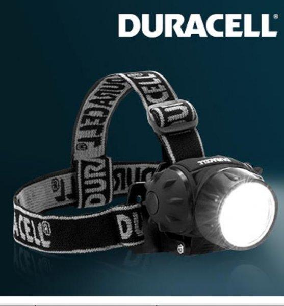 Duracell Profi LED-Stirnlampe inkl. Batterien