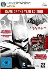 [Gamesplanet] Weekend Promo: Batman Arkham City GOTY [Steam / worldwide] (4.99€ / -75%)