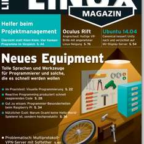 3 Ausgaben Linux-Magazin für 3 Euro