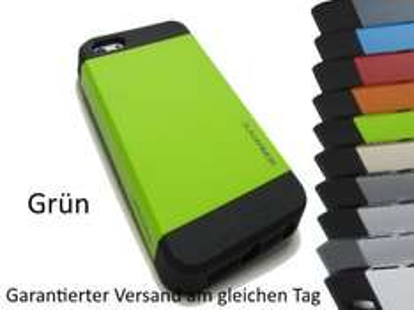 Spigen Slim Armor iPhone 5 Case mit Folie: 9,49 EUR