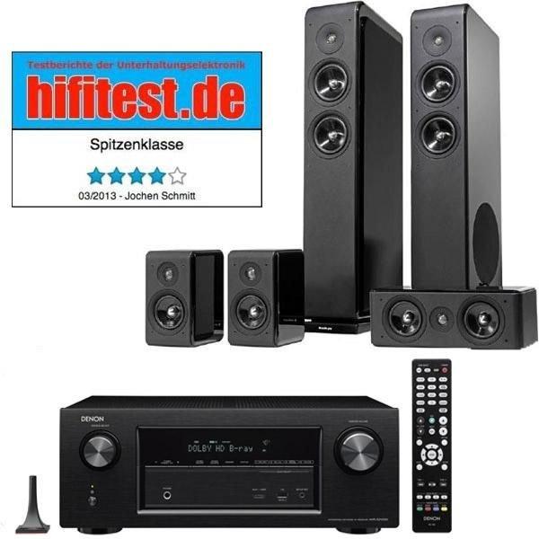 Denon AVR-X2100W + Audio Pro Avanto 5.0 für 879€ @cyberport