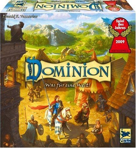 """Spiel des Jahres """"Dominion"""" für 12,99 € (+ evtl. 3 € Porto) bei 600 Käufern"""