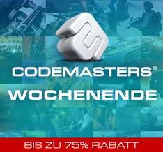 Codemaster Steam Weekend! Bis zu -75% Rabattiert!