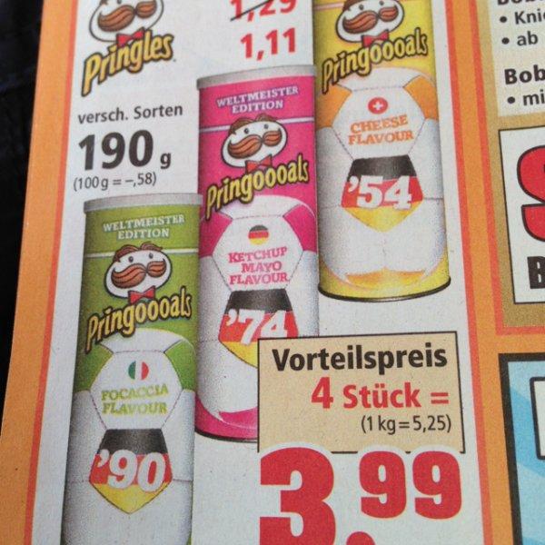 Pringles - ab 1,-€ - ab 08.09. bei Thomas Philipps (offline)