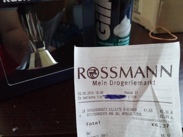 [Rossmann] Gratis Rasiererhalter bei Kauf eines beliebigen Gillette Produkts