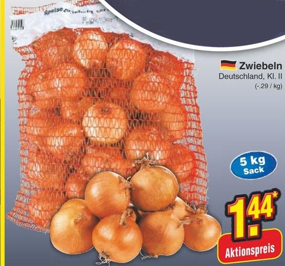 [REGIONAL?] 5kg Zwiebeln für 1,44 € (nur am Samstag, 13.09.2014)
