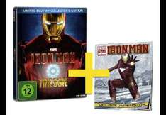 Iron Man Trilogie (Limited Blu-ray Collector's Edition, Steelbook + Comic)