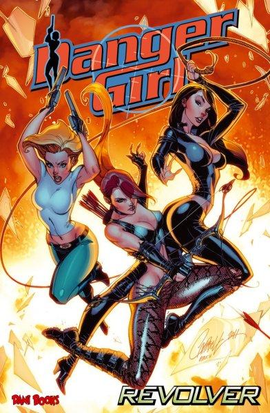 """Comicband """"Danger Girl: Revolver"""" einen Tag lang gratis für Kindle"""