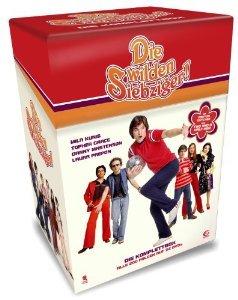 Die wilden Siebziger - Die Komplettbox mit allen 200 Folgen auf 32 DVDs (Cigarette Box mit Episodenguide und Puzzle-Poster aus den Karton-Sleeves) @  Saturn