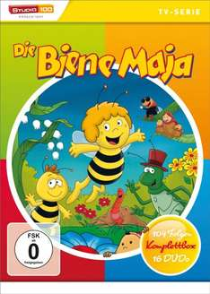 Biene Maja Komplettbox 16 DVDs@ Amazon für 40,99