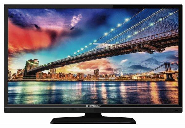 Thomson 40FU3255/G 102 cm (40 Zoll) LED-Backlight-Fernseher, EEK A+ (Full-HD, 100Hz CMI, DVB-C/S/S2/T, 2x HDMI, CI+, USB 2.0, Hotelmodus) schwarz