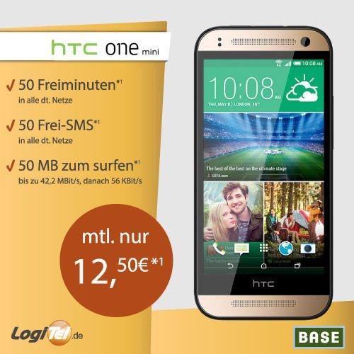 [Logitel/Ebay] Samsung Galaxy S5 Mini oder HTC One Mini 2 mit Vertrag für effektiv 300 Euro
