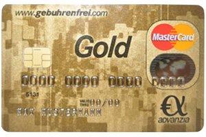 Gebührenfrei MasterCard Gold - Freunde werben Freunde (Prämie 60€)