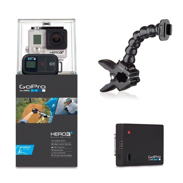 [Amazon.de] GoPro Hero3+ Black Endurance Set: inkl. Akku, Fernbedienung und Halterung