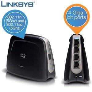 iBOOD: Linksys Wireless-AC Universal Media Connector-(WUMC710) inkl. 4 x Gigabit Ports für 45,90 Euro