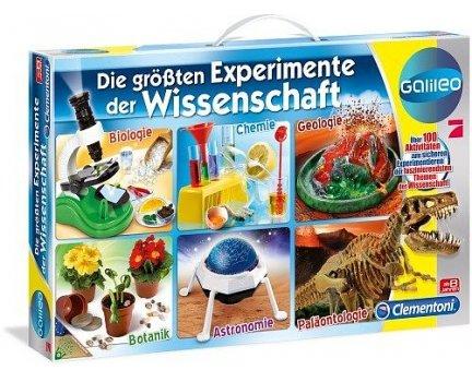 [lokal Regensburg Kaufland] Clementoni Galileo Die größten Experimente der Wissenschaft