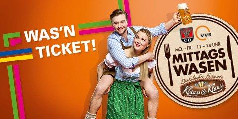 [Stuttgarter Wasen] Gratis Maß gegen VVS Ticket