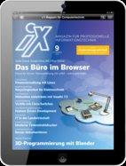 Halbjahresabo iX mit 20€ Amazon Gutschein für 37,80€