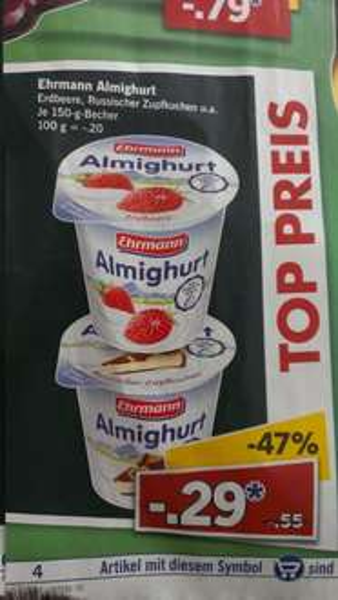 Lidl Almighurt 0,29€  150g