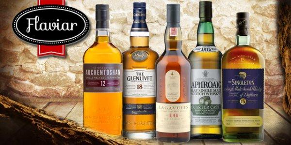 Scotch-Genuss - 5 Flaschen Whisky a 45 ml für nur 19,90