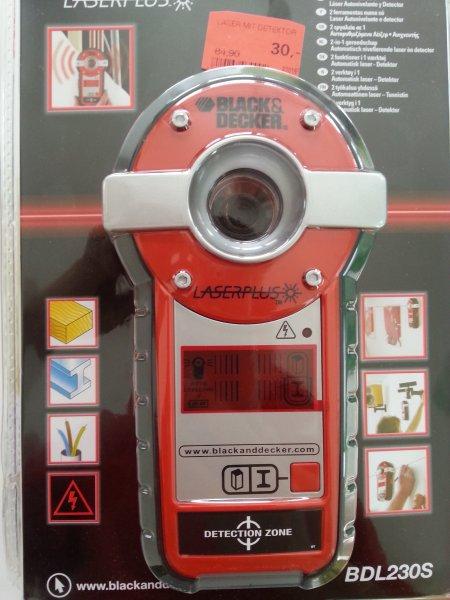 [LOKAL München] Black&Decker LaserPlus Leitungsdetektor und Laser Restposten 30,00 €