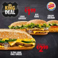 Burger King KING DEAL