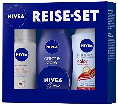 [Amazon] Gibt es wieder: Nivea Produkte im Wert von 9€ kaufen und ein DLRG Reise-Set im Wert von 6€ Gratis