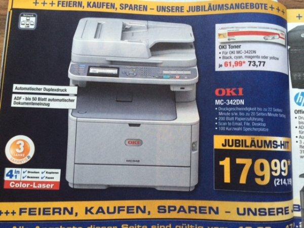 METRO: OKI Farblaser-Multifunktionsdrucker MC-342DN