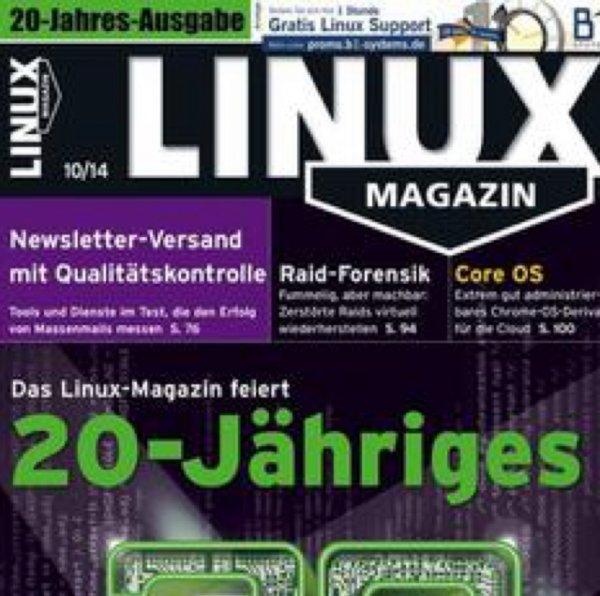 20 Jahre Linux-Magazin auf DVD